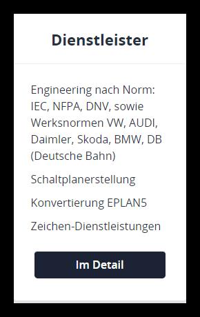 EPLAN-Dienstleister