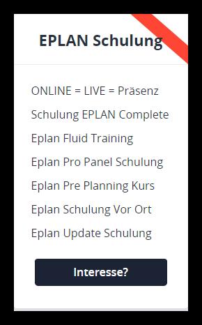 EPLAN-Schulung